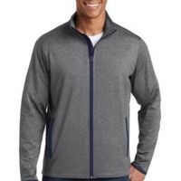 Sport Wick ® Stretch Contrast Full Zip Jacket Thumbnail