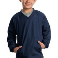 Youth V Neck Raglan Wind Shirt Thumbnail