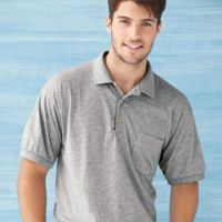 DryBlend® Jersey Sport Shirt with Pocket Thumbnail