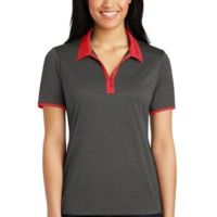 Ladies Heather Contender ™ Contrast Polo Thumbnail