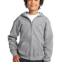Youth Heavy Blend ™ Full Zip Hooded Sweatshirt Thumbnail