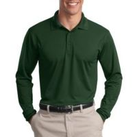 Long Sleeve Micropique Sport Wick ® Polo Thumbnail